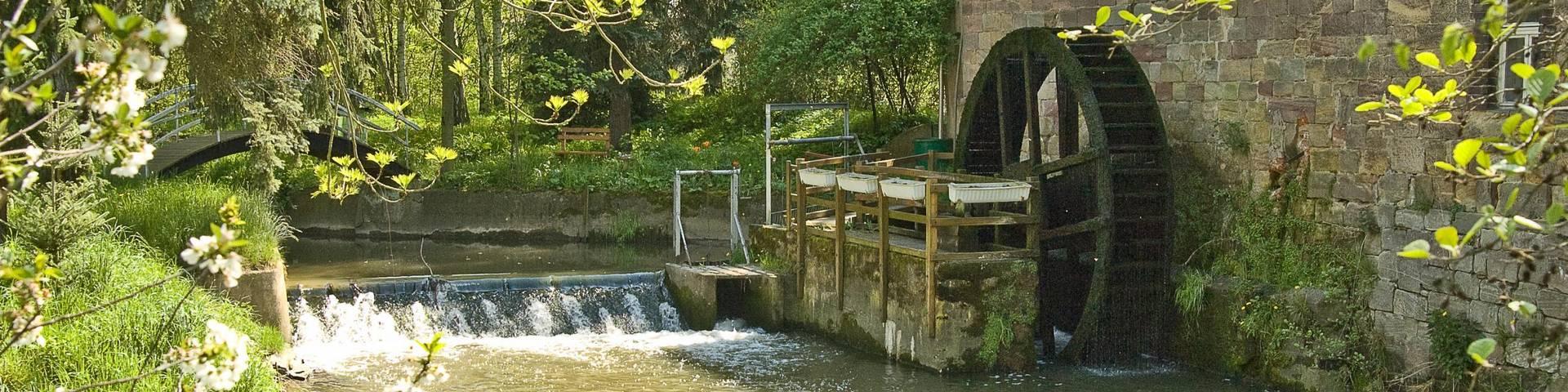 Wassermühle im Kroppental © Michael Rang