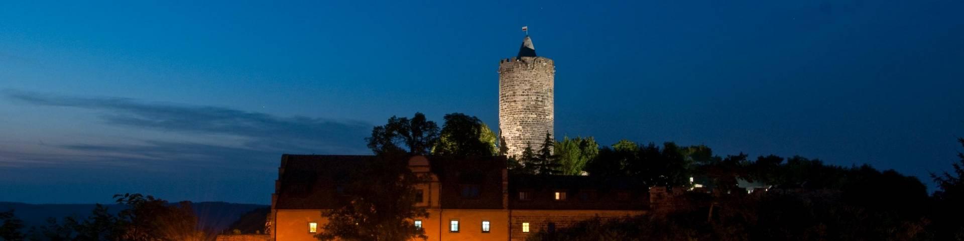schönburg bei nacht ©Volker Kindel