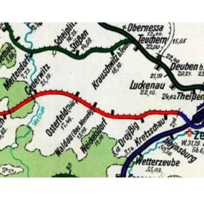 🠚 Zuckerbahn-Radweg © Markus Graue